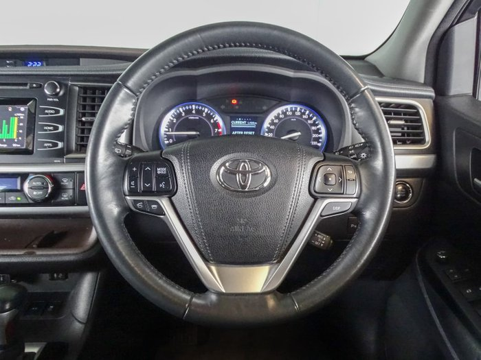 2015 Toyota Kluger GXL GSU55R AWD Silver Sky