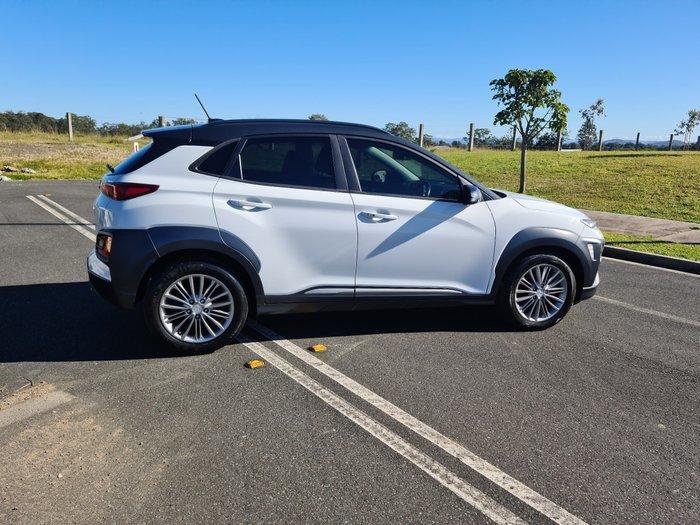 2017 Hyundai Kona Elite OS MY18 Chalk White
