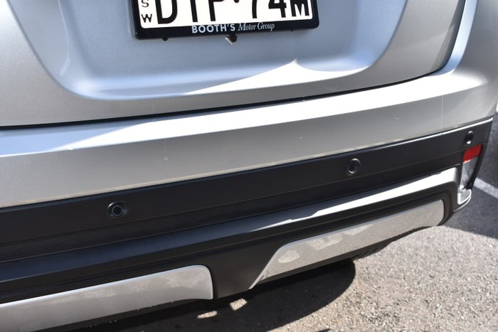 2017 Mitsubishi Eclipse Cross LS YA MY18 Sterling Silver