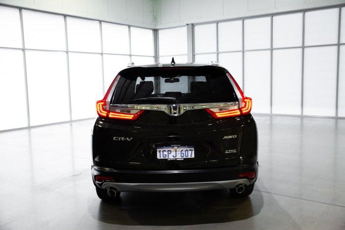 2018 Honda CR-V VTi-LX RW MY18 4X4 On Demand Crystal Black