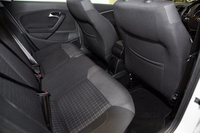 2016 Volkswagen Polo 81TSI Comfortline 6R MY16 Pure White