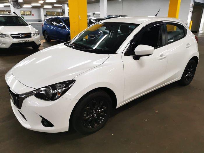 2014 Mazda 2 Genki DJ Series White