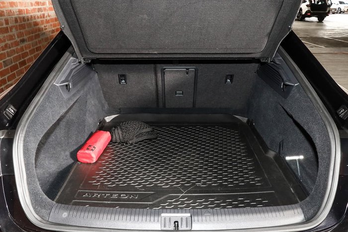2019 Volkswagen Arteon 206TSI R-Line 3H MY19 Four Wheel Drive Black