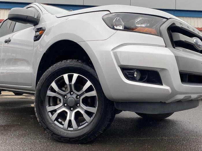 2018 Ford Ranger XLS PX MkII MY18 4X4 Dual Range Silver