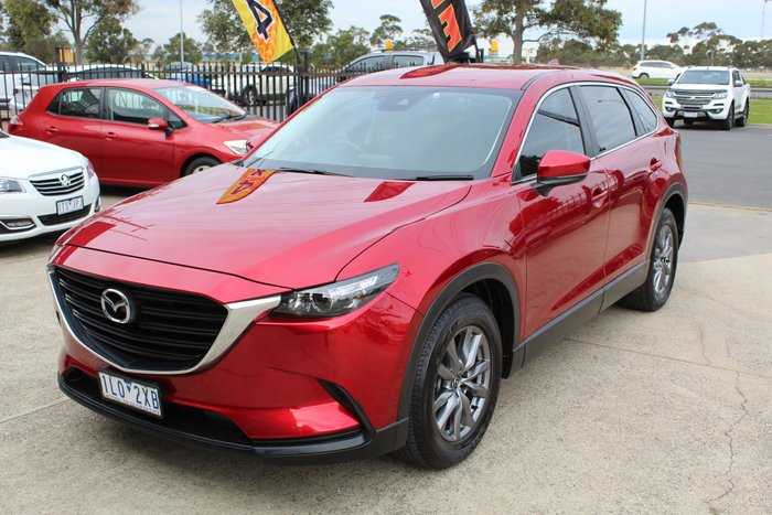 2017 Mazda CX-9 Sport TC AWD Soul Red Crystal