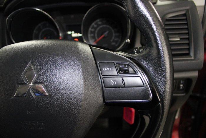2017 Mitsubishi ASX LS XC MY18 Red