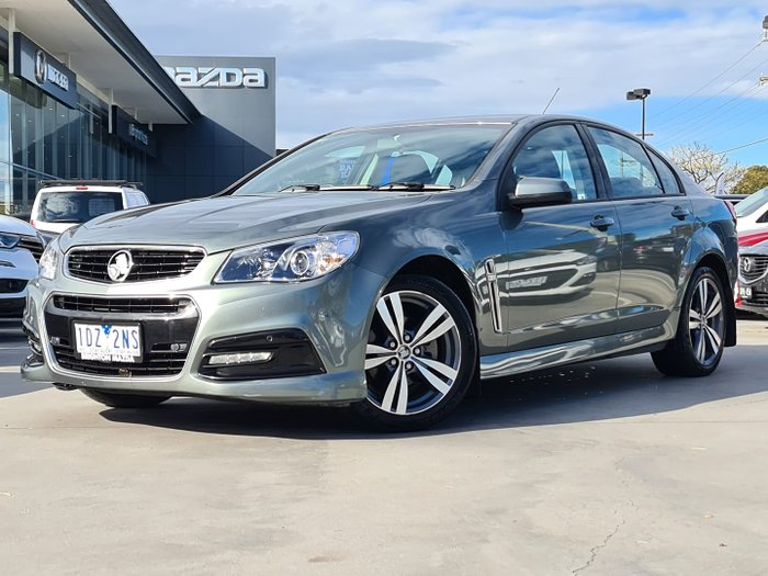 2015 Holden Commodore SV6 VF MY15 Prussian Steel