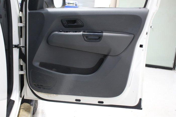 2015 Volkswagen Amarok TDI400 Core 2H MY15 4X4 Dual Range Candy White