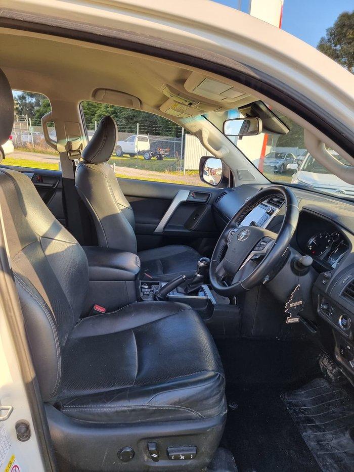 2018 Toyota Landcruiser Prado GXL GDJ150R 4X4 Dual Range White