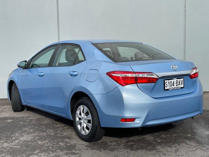 2013 Toyota Corolla Ascent ZRE152R Blue Steel