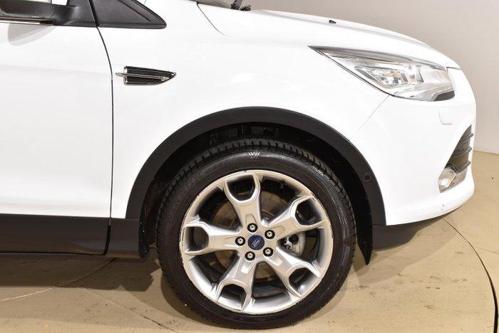 2016 Ford Kuga Titanium TF MkII MY16.5 AWD Frozen White