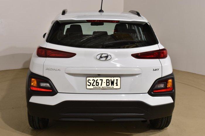 2017 Hyundai Kona Active OS MY18 AWD Chalk White
