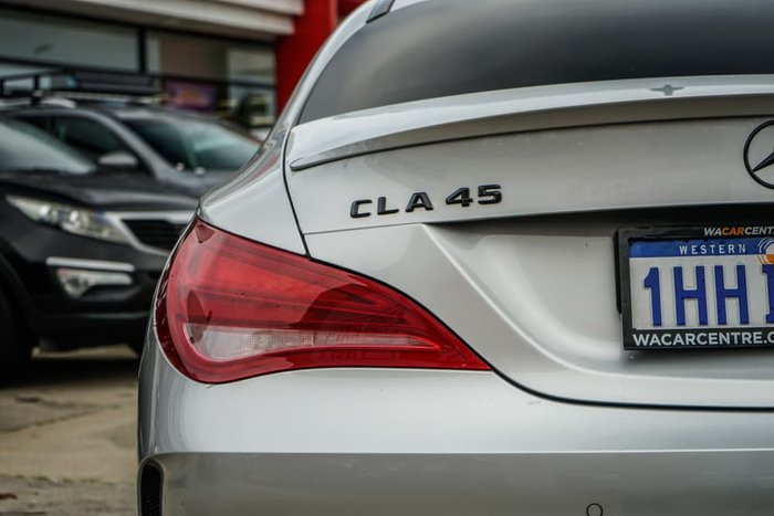 2013 Mercedes-Benz CLA-Class CLA45 AMG C117 Four Wheel Drive Polar Silver