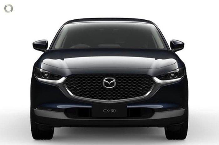 2021 Mazda CX-30 G25 Astina DM Series AWD Deep Crystal Blue