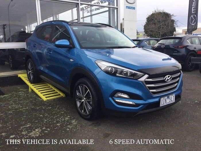2016 Hyundai Tucson Active X TL MY17 Blue