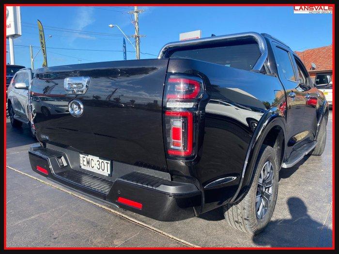2021 GWM Ute Cannon-L NPW MY20 CRYSTAL BLACK