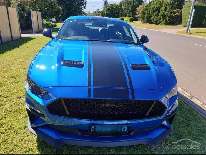 2019 Ford Mustang R-SPEC FN MY20 Velocity Blue