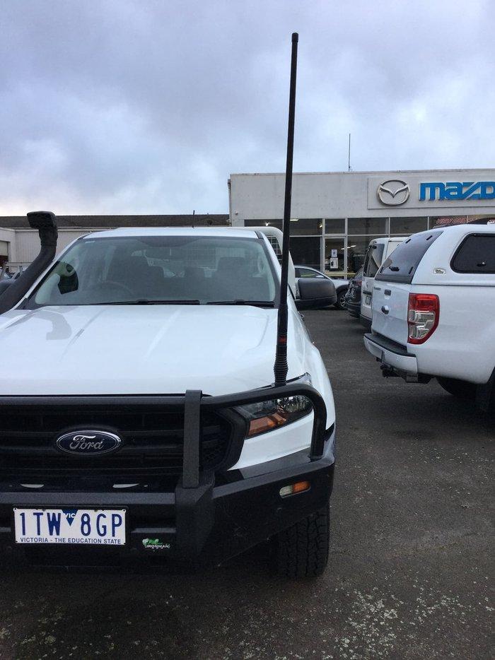 2018 Ford Ranger XL PX MkII MY18 4X4 Dual Range White