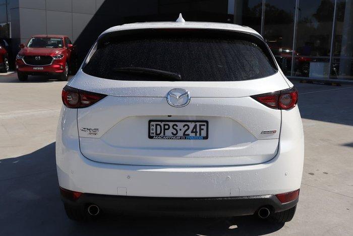 2017 Mazda CX-5 Akera KF Series AWD White