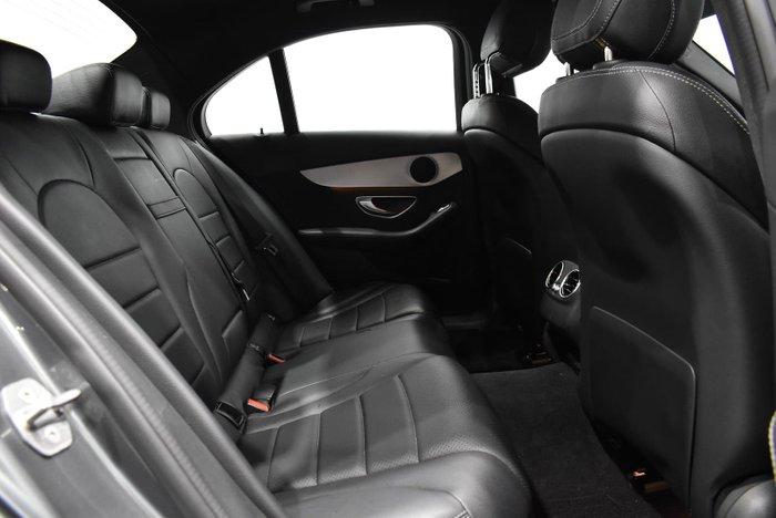 2016 Mercedes-Benz C-Class C200 W205 Selenite Grey