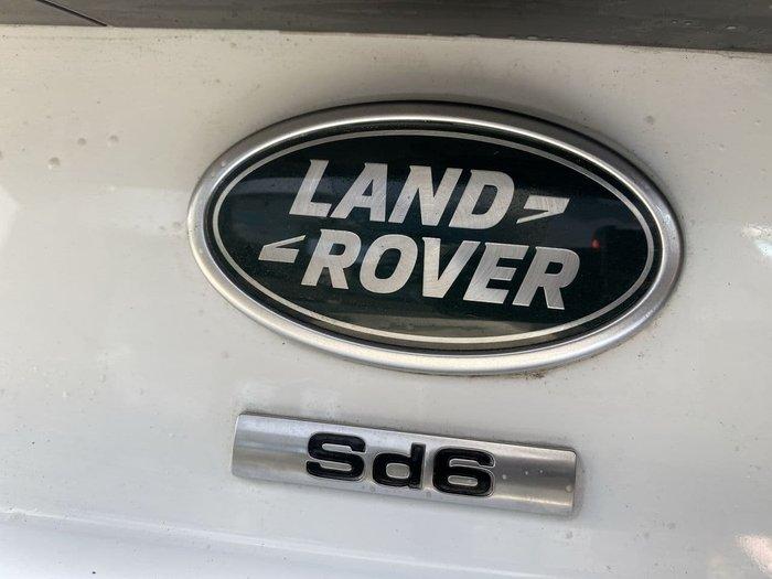 2020 Land Rover Discovery SD6 SE Series 5 MY20 4X4 Dual Range Fuji White