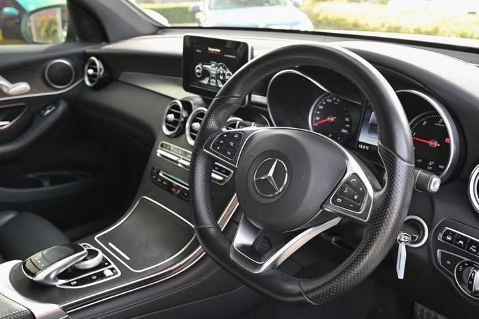 2016 Mercedes-Benz GLC-Class GLC250 d C253 Four Wheel Drive White
