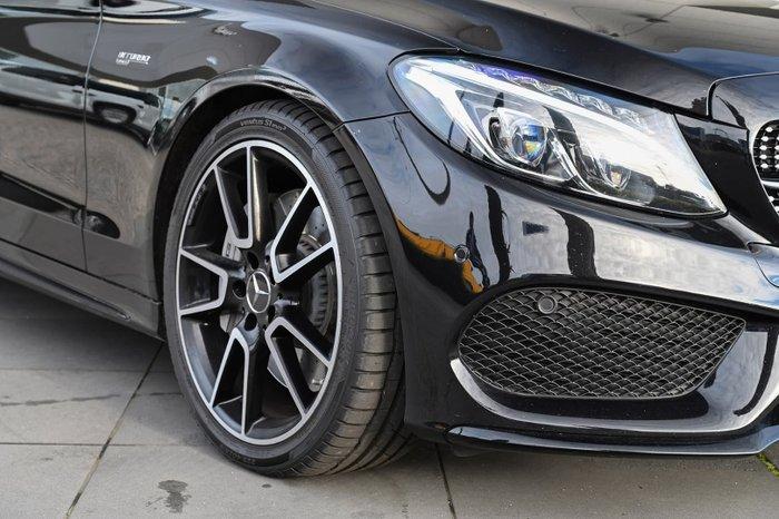 2017 Mercedes-Benz C-Class C43 AMG W205 Four Wheel Drive Black