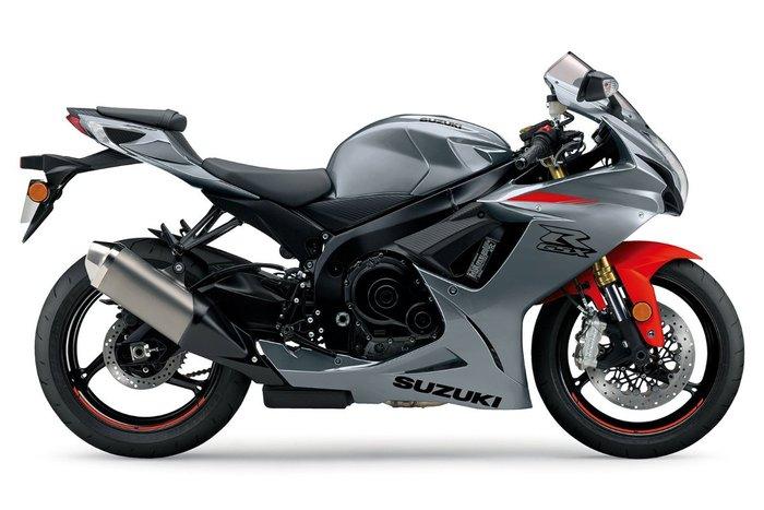 2021 Suzuki GSX-R750 GREY