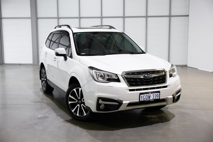 2018 Subaru Forester 2.5i-S S4 MY18 AWD Crystal White
