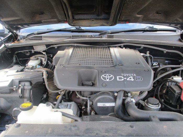 2008 Toyota Landcruiser Prado GXL KDJ120R 4X4 Constant Dynamic Blue