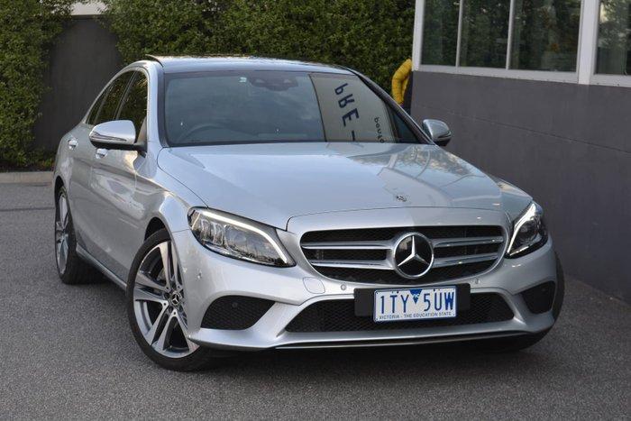 2019 Mercedes-Benz C-Class C300 W205 Iridium Silver
