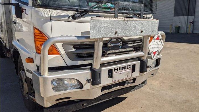 2016 HINO 500 SERIES WHITE