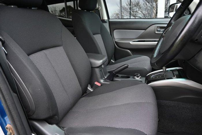 2016 Mitsubishi Triton GLS MQ MY16 4X4 Dual Range Impulse Blue