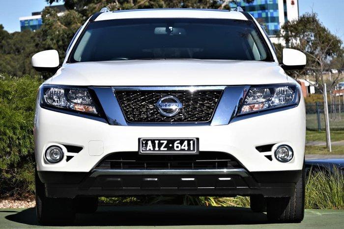 2016 Nissan Pathfinder ST-L R52 MY16 4X4 On Demand Ivory Pearl