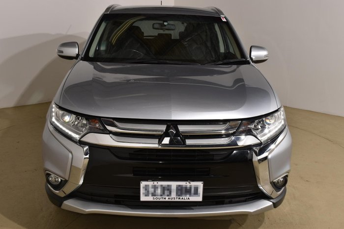 2015 Mitsubishi Outlander LS ZK MY16 4X4 On Demand Cool Silver