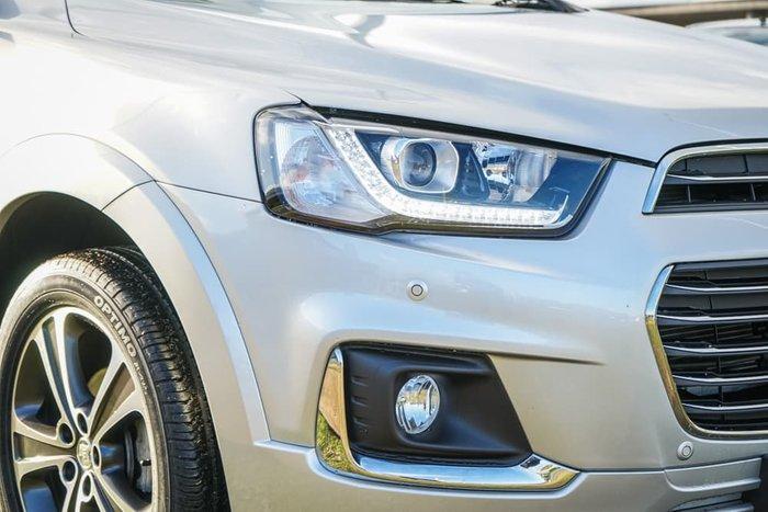 2017 Holden Captiva LTZ CG MY17 AWD Nitrate Silver