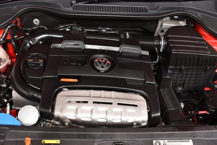 2013 Volkswagen Polo GTI 6R MY13.5 Flash Red