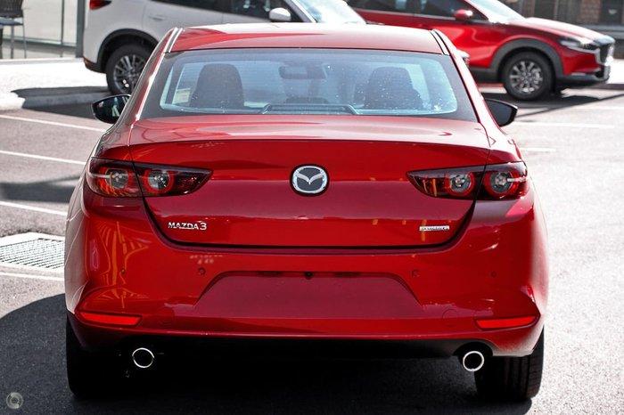 2021 Mazda 3 G25 Astina BP Series Red