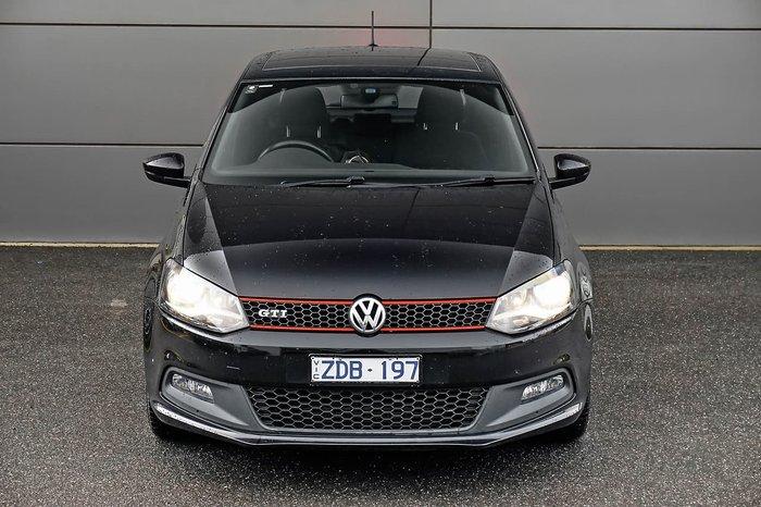 2012 Volkswagen Polo GTI 6R MY12.5 Black