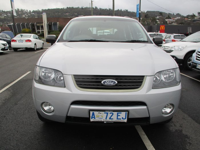 2008 Ford Territory TX SY AWD Silver