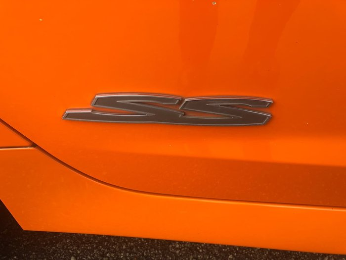 2014 Holden Commodore SS VF MY14 Orange
