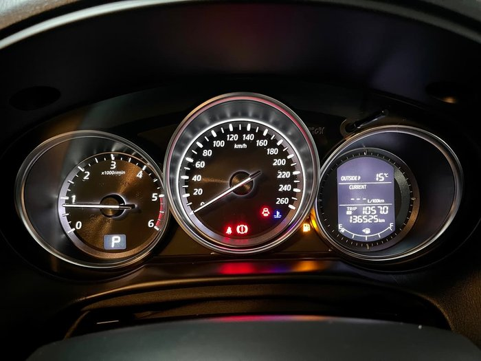 2013 Mazda CX-5 Akera KE Series MY13 AWD White