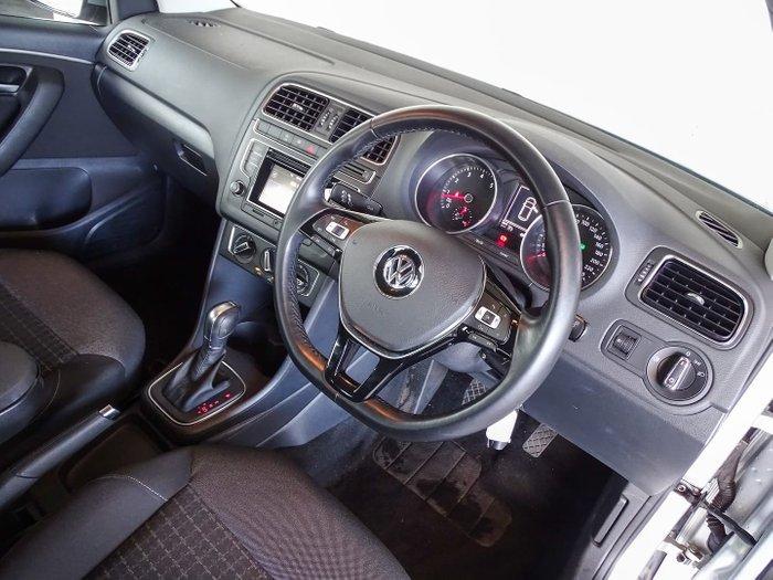 2015 Volkswagen Polo 81TSI Comfortline 6R MY15 Reflex Silver