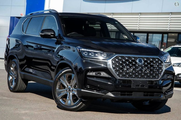 2021 SsangYong Rexton Ultimate Y450 MY21 4X4 Dual Range Black