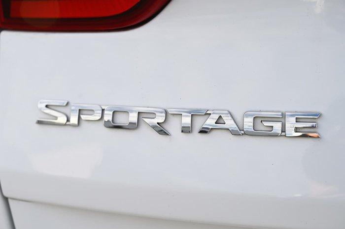 2018 Kia Sportage SLi QL MY18 White