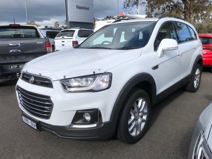 2018 Holden Captiva Active CG MY18 White
