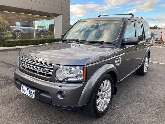 2013 Land Rover Discovery 4 SDV6 SE Series 4 MY13 4X4 Constant Grey
