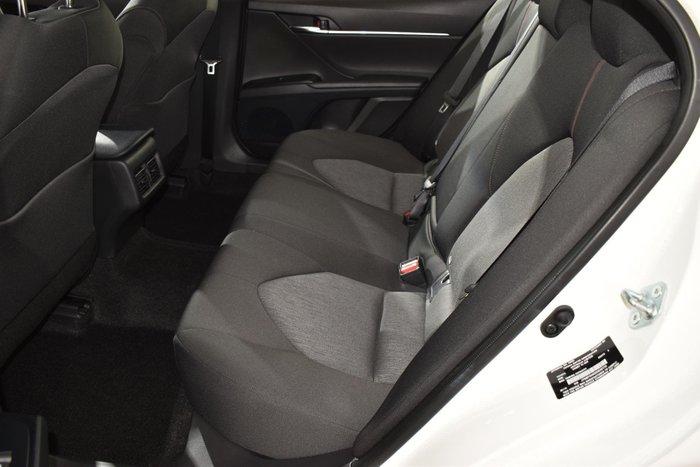 2019 Toyota Camry Ascent Sport ASV70R Glacier White
