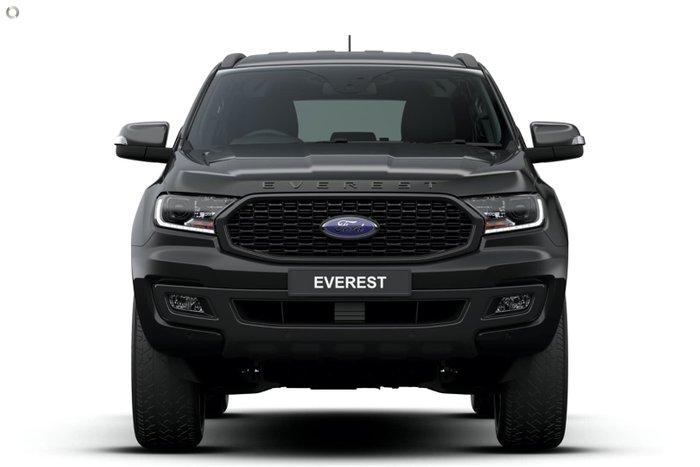 2021 Ford Everest Sport UA II MY21.75 4X4 Dual Range Shadow Black