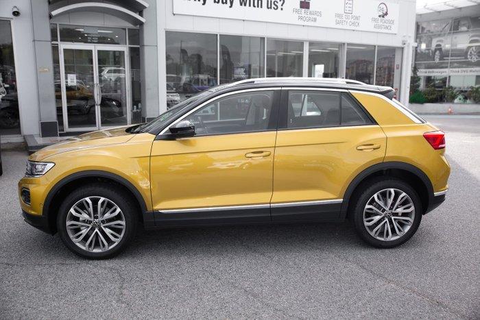 2021 Volkswagen T-Roc 110TSI Style A1 MY21 Turmeric Yellow